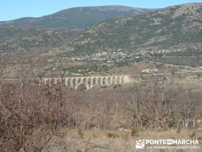 Puentes Medievales, Valle del Lozoya - Senderismo Madrid; rutas gredos senderismo